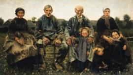 Léon Frédéric - Les Âges du paysan : Les vieillards