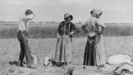 Louis Pion - Pause des paysans