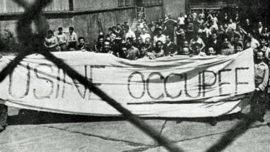 Grève usine Michelin - juin 1970