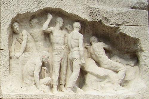 Monument au Travail - fresque