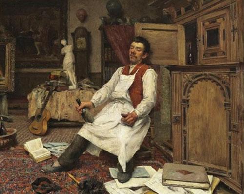 Pierre Jacques Dierckx - Dans l'atelier