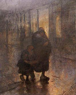 Henry Luyten - La grève (Misère)