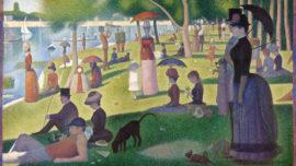 Georges Seurat - Dimanche à la Grande Jatte