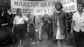 Marche de la Famille, avec Dieu, pour la Liberté rassemblant plus de 300 000 personnes à Sao Paolo en mars 1964
