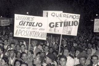 Manifestation pro Getulio Vargas