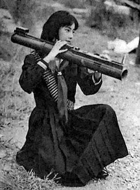 Fusako Shigenobu, dirigeante de l'Armée Rouge Japonaise - Liban 1972