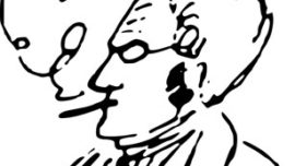 Max Stirner dessiné par Friedrich Engels, en 1842.