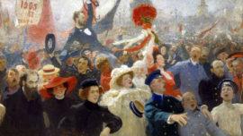 Ilia Répine : Manifestation du 17 octobre 1905