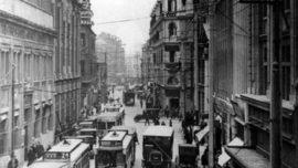 La Jiujiang Road à Shanghai, vers la fin des années 1920
