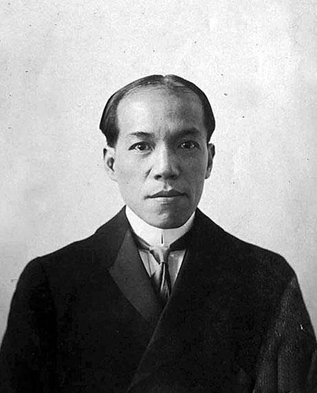 Liang Qi-chao, en 1901