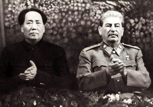 Mao Zedong et Staline