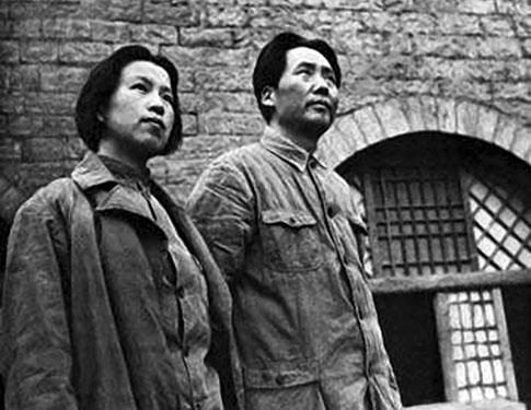 Mao Zedong et Jiang Qing
