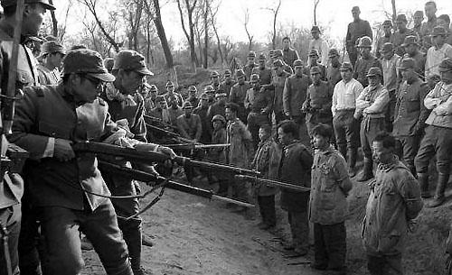 Nankin 1937 : massacres de prisonniers chinois par l'armée japonaise