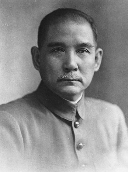 Sun Ya-Tsen, vers 1910