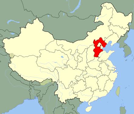 La région du Hebei