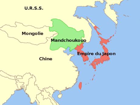 L'État fantoche du Mandchoukouo