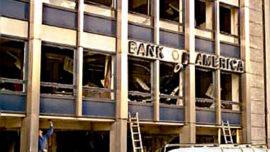 Anvers, 4 décembre 1985 : action des Cellules Communistes Combattantes contre la Bank of America