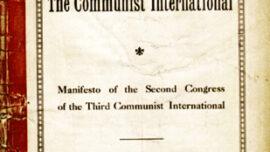 Edition américaine éditée par la section américaine du Manifeste du second congrès