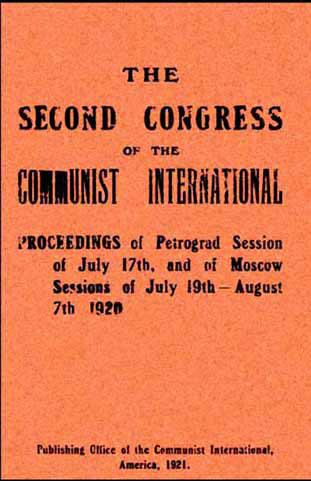 Le compte-rendu des débats du second congrès dans son édition américaine