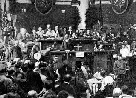 Lénine au second congrès