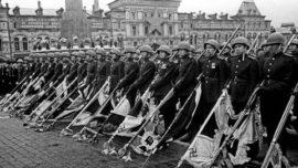 Parade de la victoire - Moscou 1945