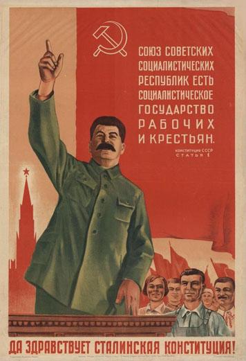 Vive la constitution de Staline !