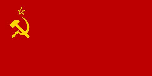 Drapeau de l'URSS de 1924 à 1936
