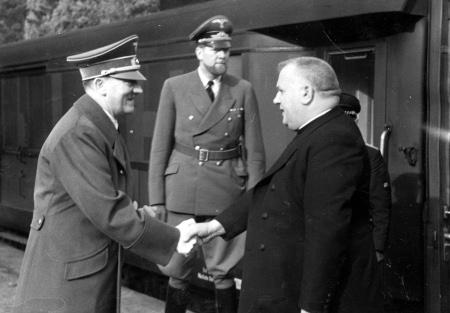 Adolf Hitler et Jozef Tiso