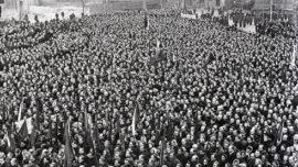 Prague en 1948, l'instauration de la démocratie populaire