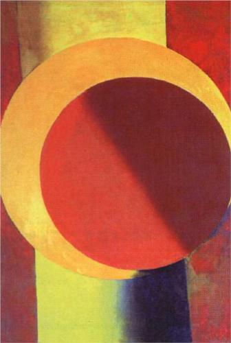 Alexandre Rodtchenko, Composition n°65, 1918