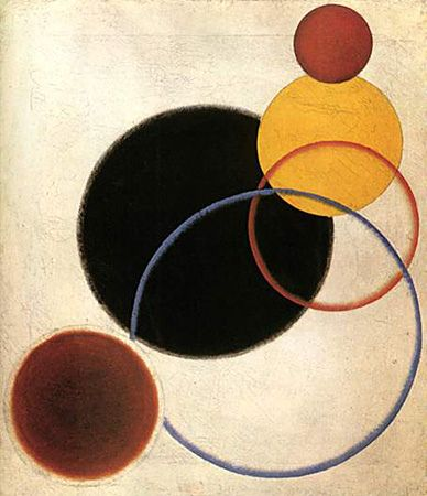 Alexandre Rodtchenko, Composition n°68 (nature morte »), 1918