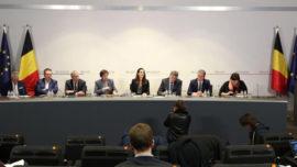 Le Conseil national de sécurité annonce, par la voix de la Première ministre, Sophie Wilmès, que la Belgique ferme les écoles, cafés, restaurants et discothèques.