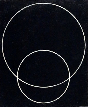 Alexandre Rodtchenko, Deux cercles n°127, 1920