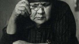 La mère d'Alexandre Rodtchenko, prise par lui en photo en 1924