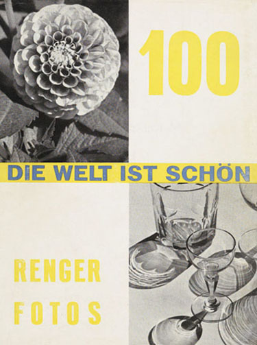 Album de photographies d'Albert Renger-Patzsch, Le monde est beau, 1928