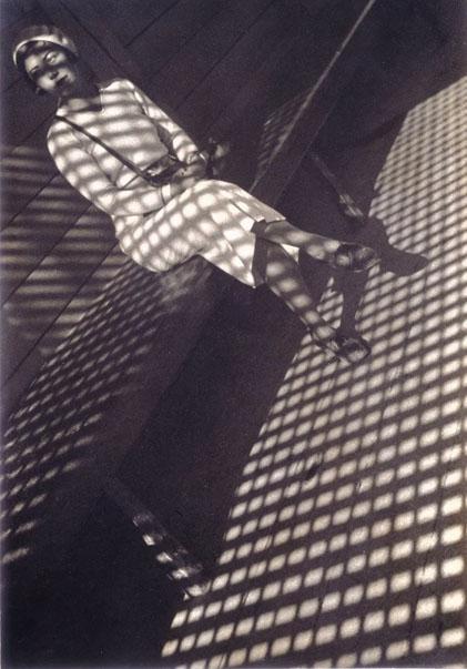 Alexandre Rodtchenko, La jeune fille au Leica, 1934
