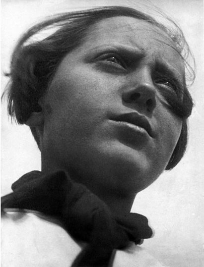 Alexandre Rodtchenko, La pionnière, 1930