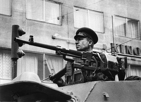 Troupes du pacte de Varsovie en Tchécoslovaquie