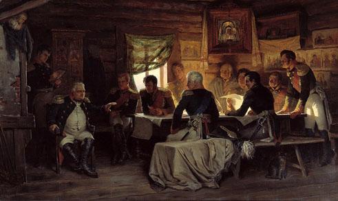 Alexeï Kivchenko, Conseil de guerre à Fili (1880)