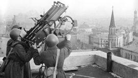Défense anti-aérienne à Moscou