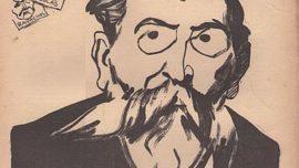 Paul Brousse (1844-1912), chef de file du courant possibiliste, représenté par Aristide Delannoy en 1908 sur une couverture d'un journal anarchiste