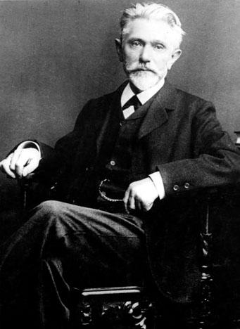 August Bebel, figure de la social-démocratie, en 1901