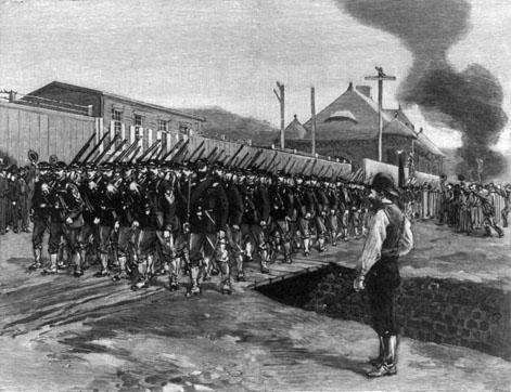 L'intervention du 18e régiment à Homestead