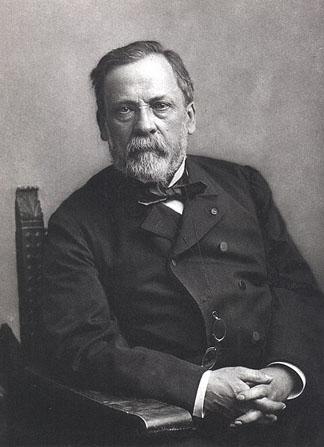 Louis Pasteur, avant 1895, par le photographe Paul Nadar.