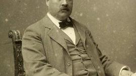Svante Arrhenius, autour de l'année 1895