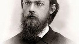 Vladimir Vernadsky, en 1889. La photographie a été prise dans un studio parisien.